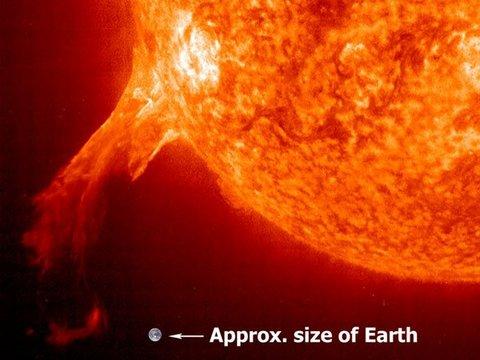 Une énorme tâche bientôt à l'origine d'une tempête solaire ?