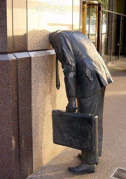 Monument Workaholic, Los Angeles, USA