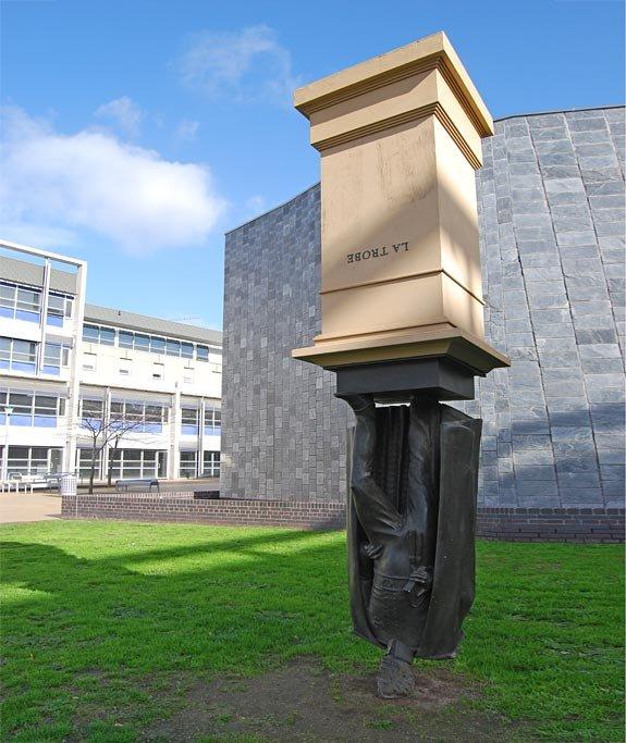 Monument to Charles La Trobe, Melbourne, Australia.