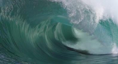 Ocean, surf, Slow Motion