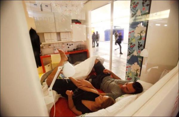 Appartement Ikea appartement ikea dans le métro parisien