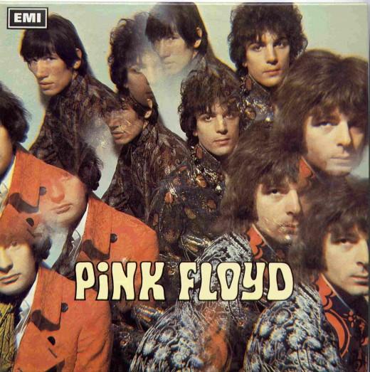 Les pochettes d'albums des Pink Floyd de 1967 to 2014