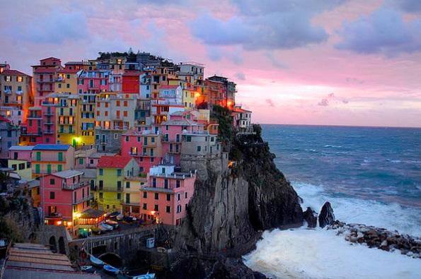 Cinque terre en Italie