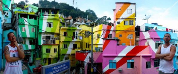 villes colorées du monde
