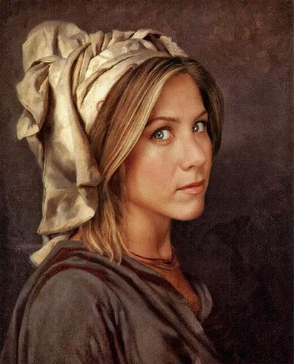 Des tableaux de peoples façon Renaissance.