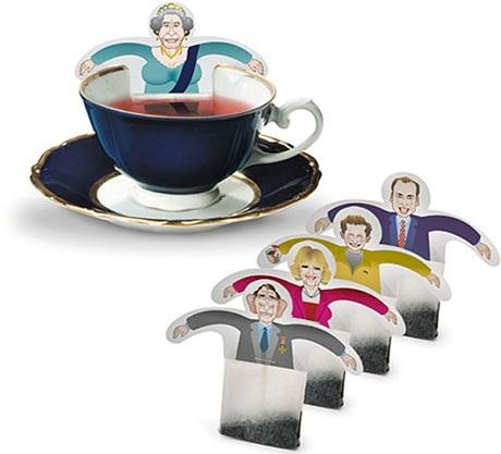 Du thé royal