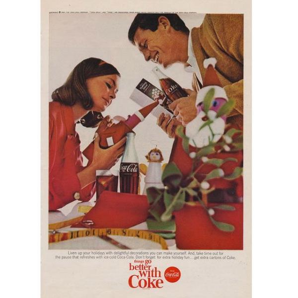 PUB COCA COLA VINTAGE 12 Sélection de publicités Coca Cola vintages