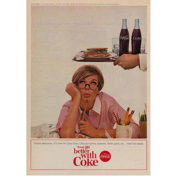 PUB COCA COLA VINTAGE 13 Sélection de publicités Coca Cola vintages