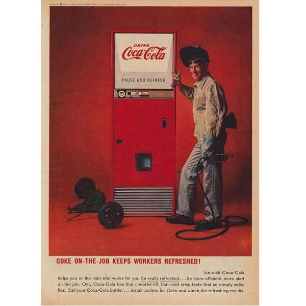 PUB COCA COLA VINTAGE 15 Sélection de publicités Coca Cola vintages