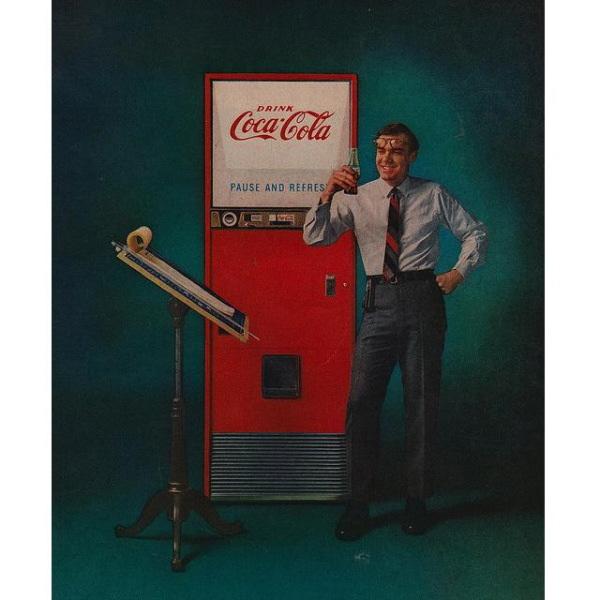 PUB COCA COLA VINTAGE 16 Sélection de publicités Coca Cola vintages
