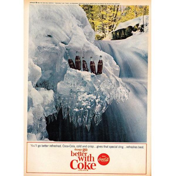 PUB COCA COLA VINTAGE 17 Sélection de publicités Coca Cola vintages