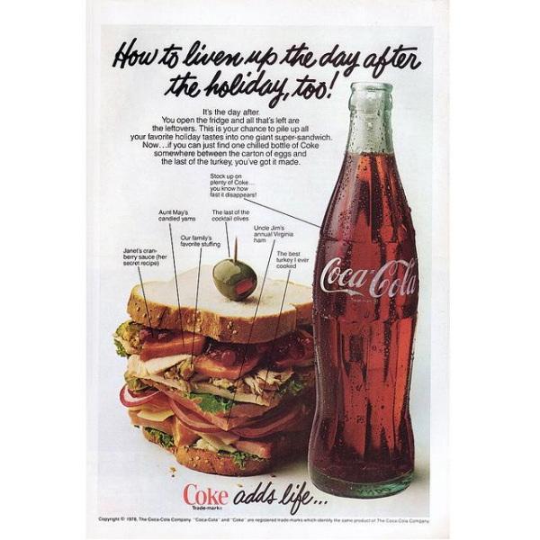 PUB COCA COLA VINTAGE 3 Sélection de publicités Coca Cola vintages