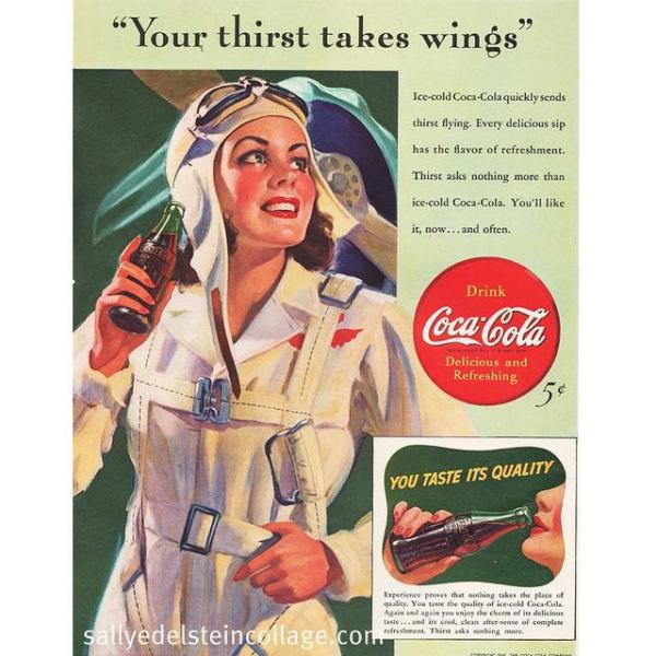 PUB COCA COLA VINTAGE 4 Sélection de publicités Coca Cola vintages