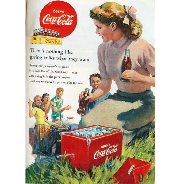 PUB COCA COLA VINTAGE 6 Sélection de publicités Coca Cola vintages