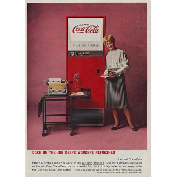 PUB COCA COLA VINTAGE 7 Sélection de publicités Coca Cola vintages