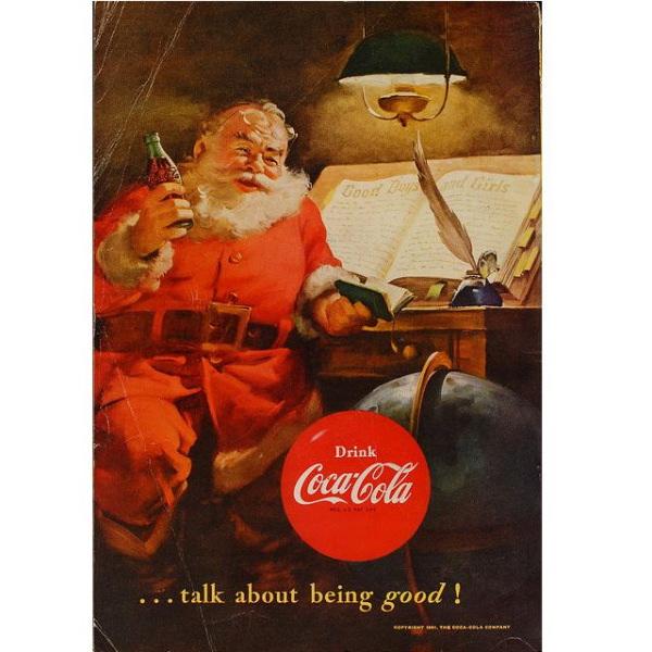 PUB COCA COLA VINTAGE 9 Sélection de publicités Coca Cola vintages