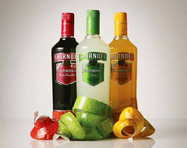Vodka Smirnoff Caipiroska