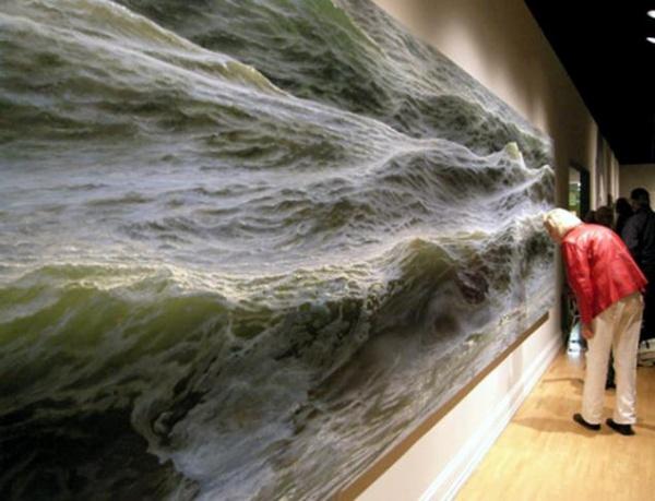 Peindre l' océan