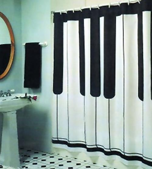 des rideaux de douche originaux. Black Bedroom Furniture Sets. Home Design Ideas