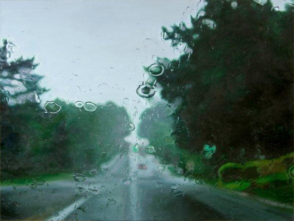 peindre la pluie