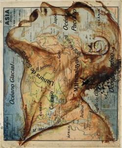 Peinture-sur-carte-Atlas-1