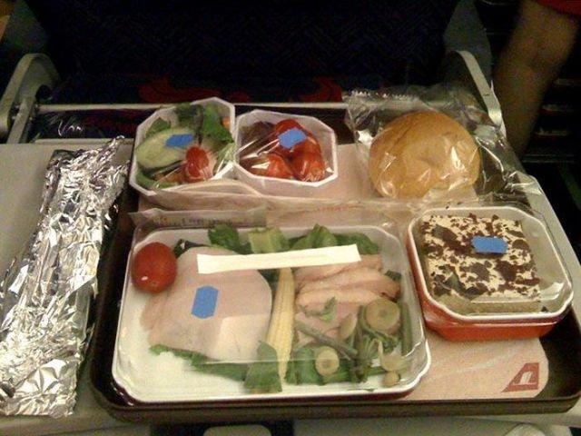repas  compagnies aériennes