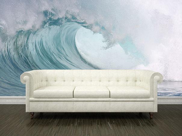 du papier peint trompe l 39 oeil. Black Bedroom Furniture Sets. Home Design Ideas