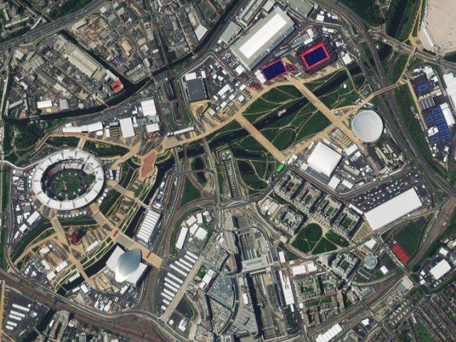 Londres, Royaume-Uni - Village olympique