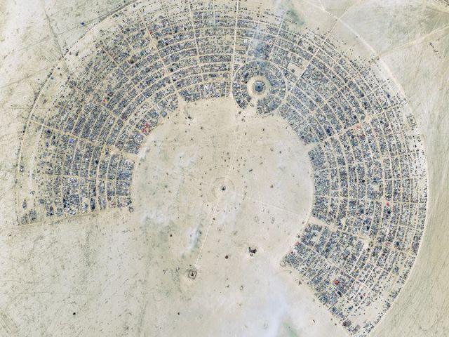 Nevada - festival Burning Man