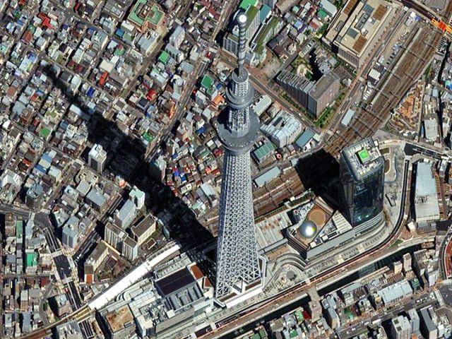 Tokyo, Japon - Sky tree la plus haute structure en Asie