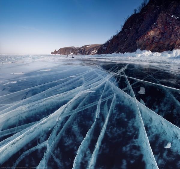 lac Baikal gele wikilins 2 Le lac Baïkal gelé par Daniel Korzhonov