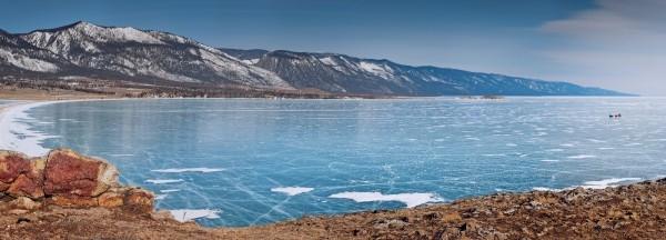 lac Baikal gele wikilins 7 Le lac Baïkal gelé par Daniel Korzhonov