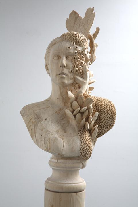 incroyables sculptures en bois