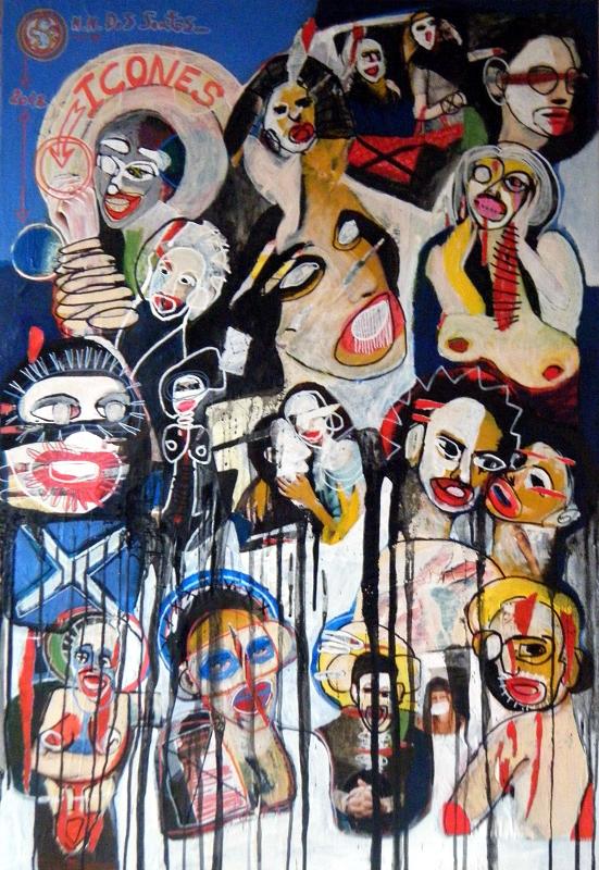 Collages dans les rues
