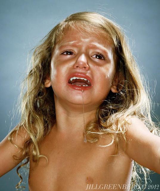 enfants pleurent