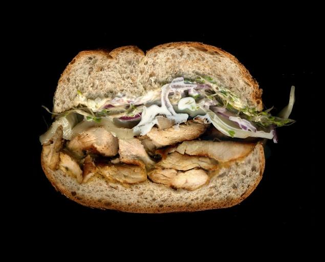 poulet grill sandwich