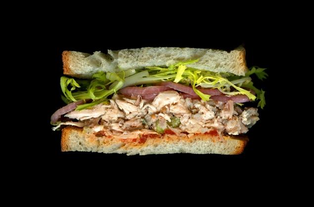 sandwich salade de poulet wichcraft