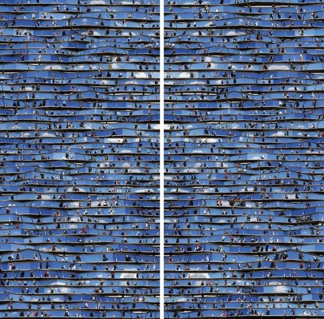 Les collages hypnotiques de Jiyen Lee