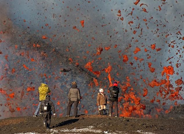 Éruption volcanique,  Kamtchatka