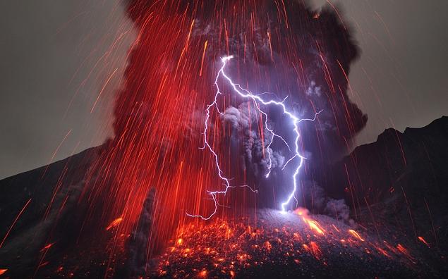 La foudre dans les volcans de Martin Rietze