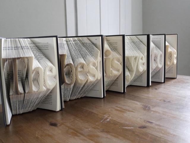 Luciana Frigerio et ses livres origamiques
