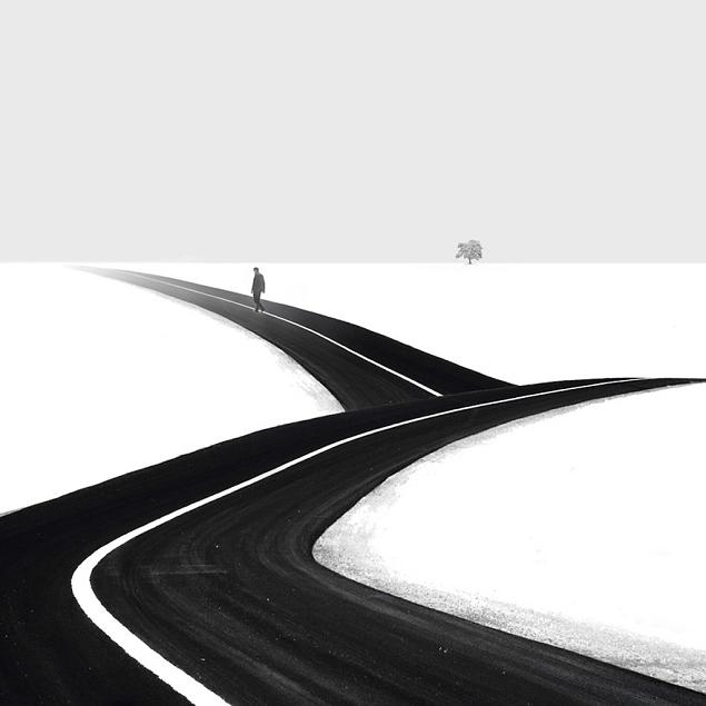 Les photos minimalistes d' Hossein Zare