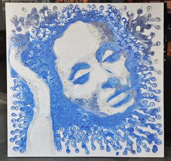 Hong Yi - Un portrait d'Adèle en bougie