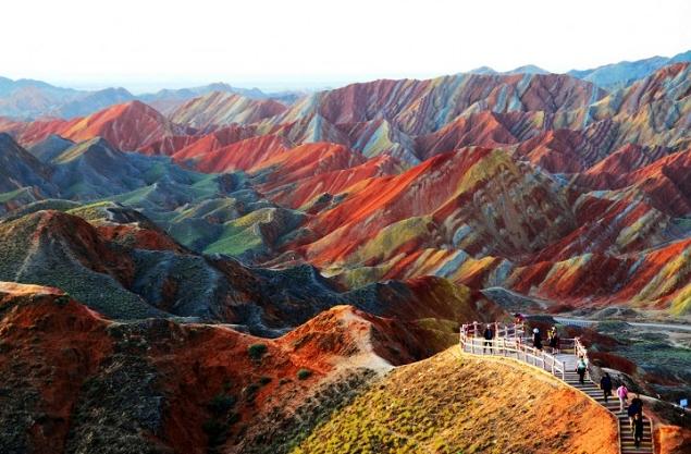 Les couleurs du Danxia en Chine