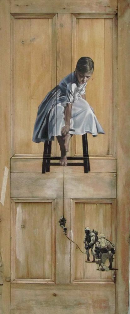 Les peintures sur portes de pete hawkins for Peinture sur porte