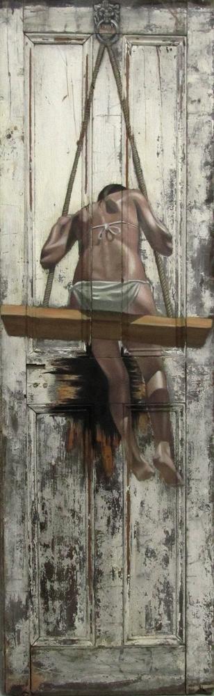 Les peintures sur portes de Pete Hawkins