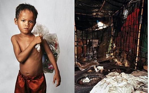 roathy9anslivesontheoutskirtsofphnompenhcambodia Chambres d'enfants à travers le monde
