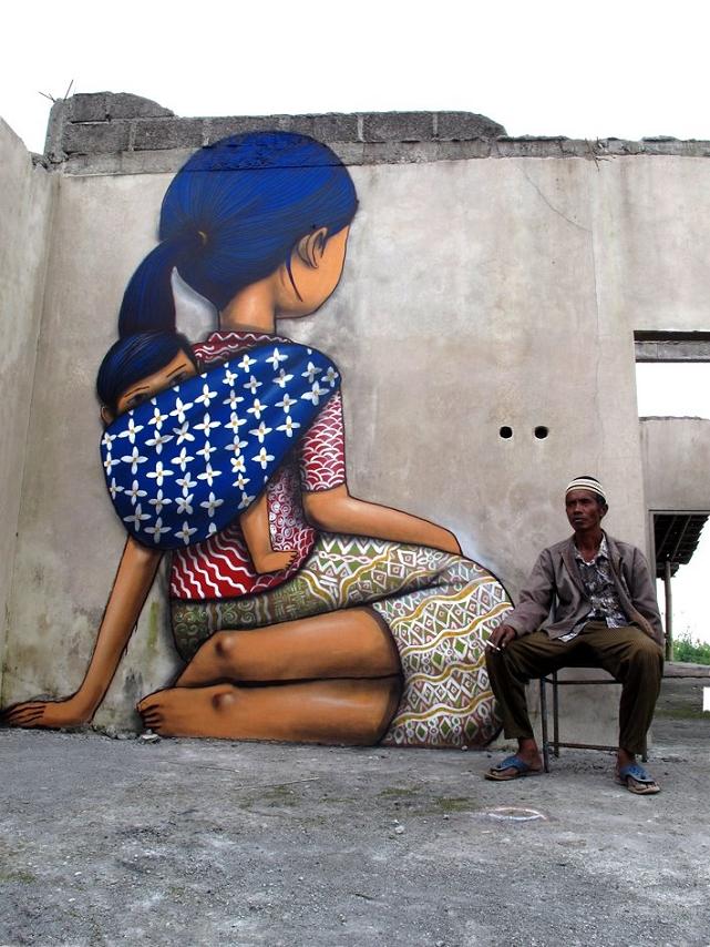 Julien seth malland street art autour du monde for Art du monde