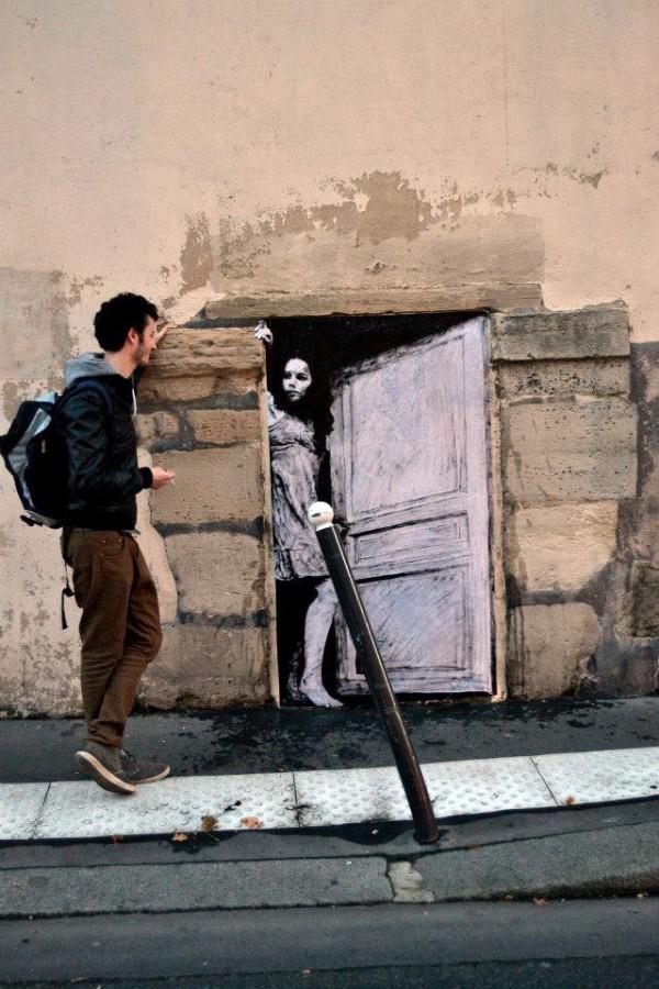 Street art in the streets of paris charles leval - Galerie street art paris ...