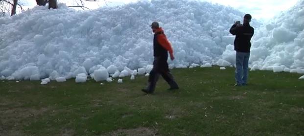 Un Tsunami de glace au Canada